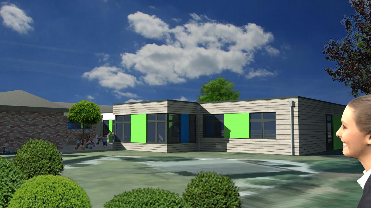 Erweiterung der städtischen Kindertagesstätte Bauchem
