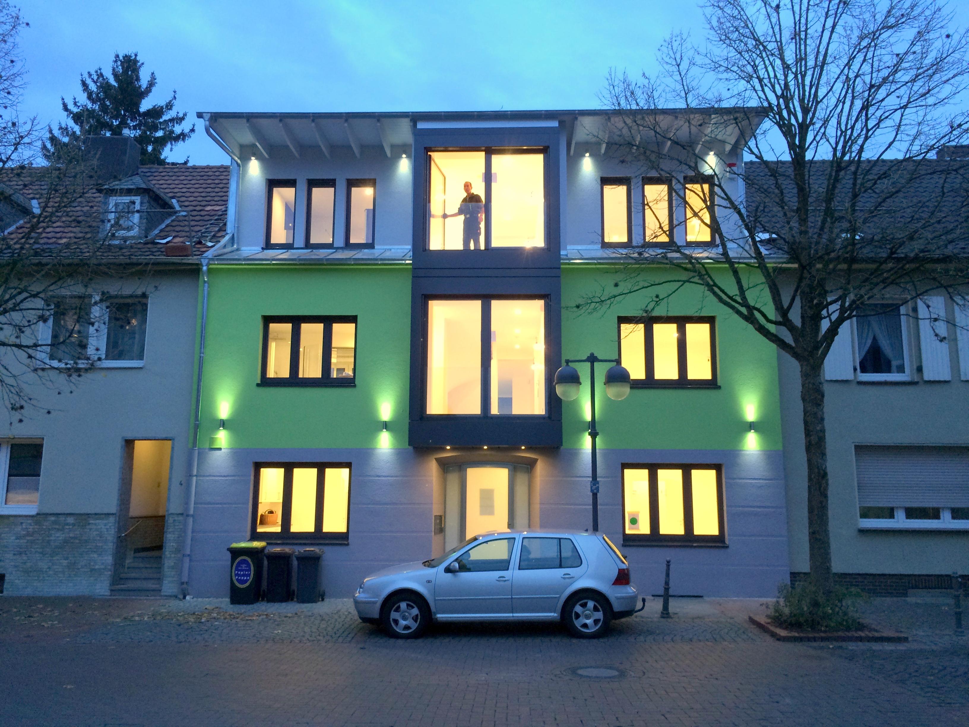 umbau und erweiterung eines zweifamilienwohnhauses architekt arthur stefelmanns. Black Bedroom Furniture Sets. Home Design Ideas