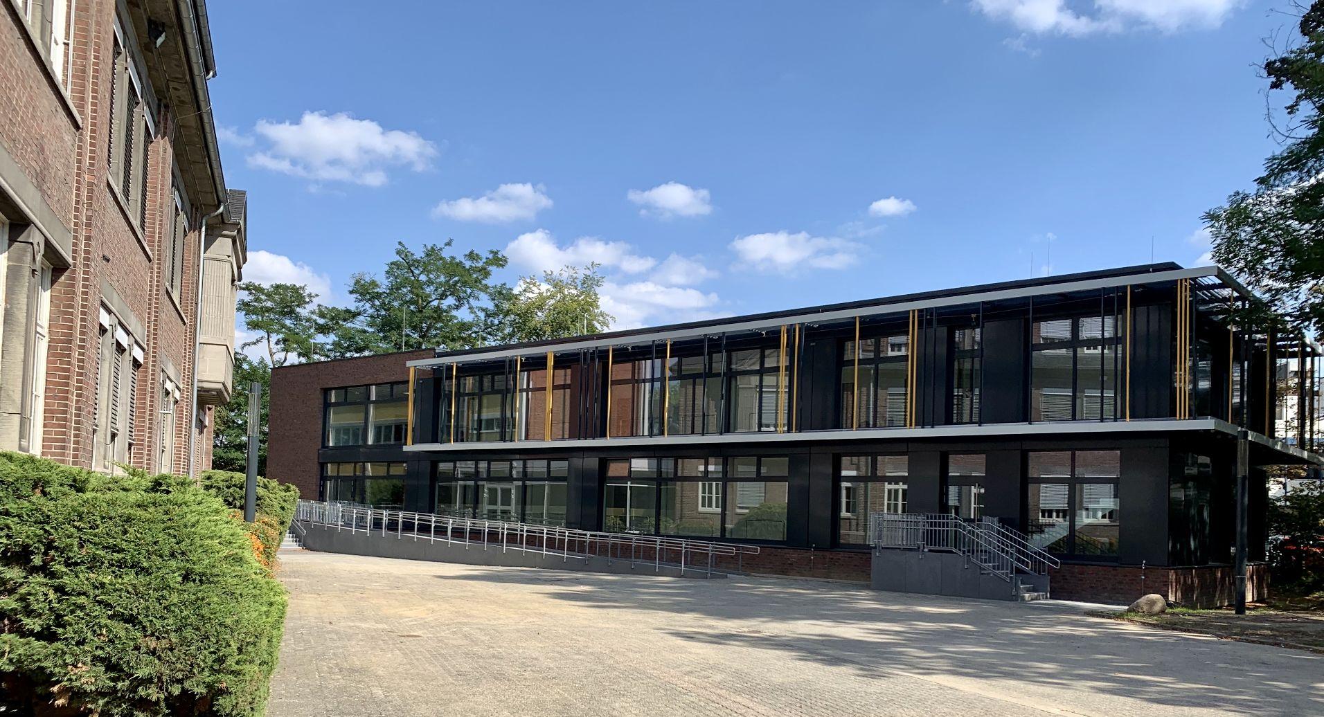 Neubau eines Klassentraktes am bischöflichen Gymnasium St. Ursula